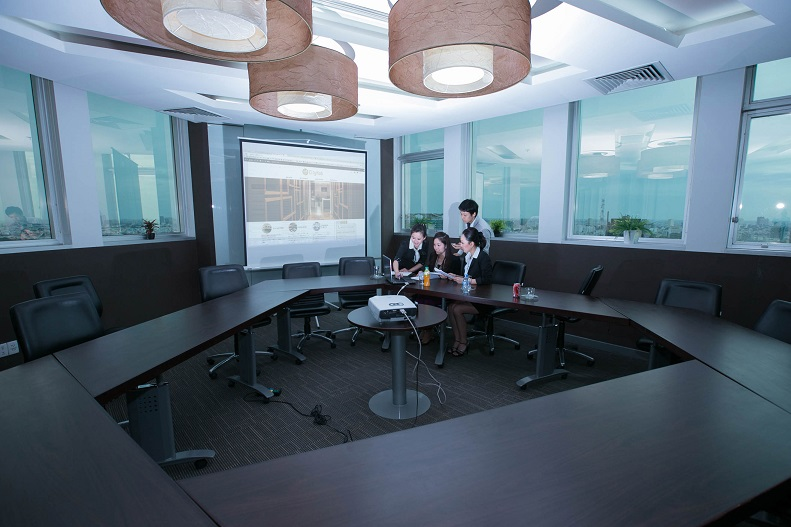Cityhub @ Saigon Trade Centre Boardroom