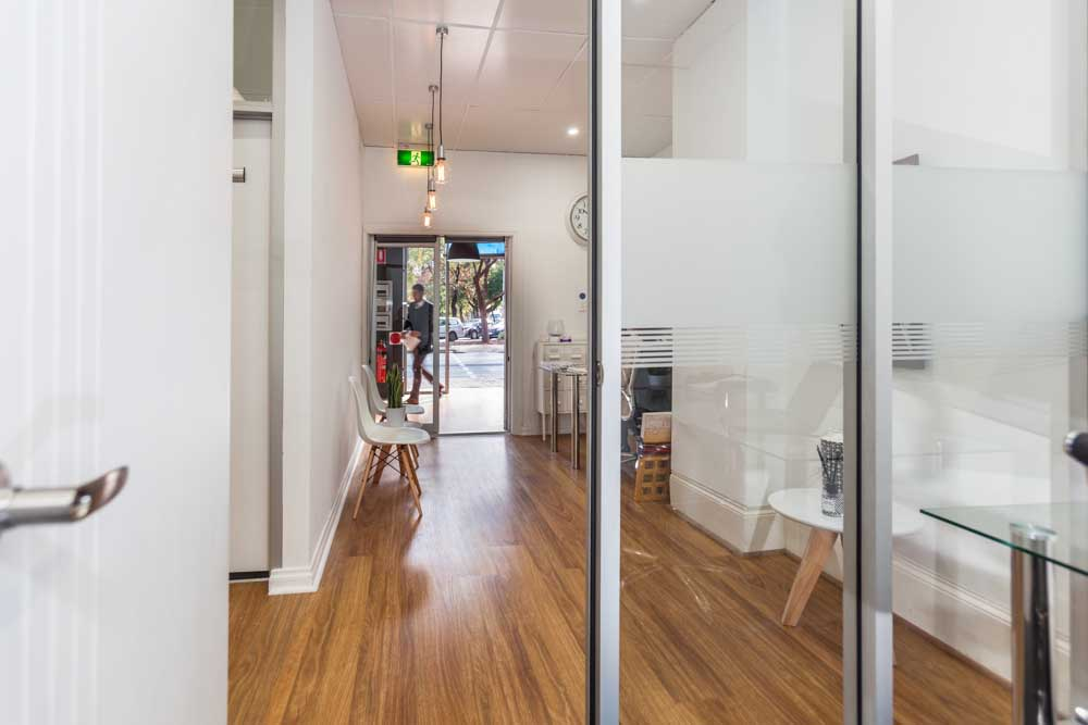 Business Hub Adelaide CBD interior